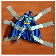 trapped batman : simon monk