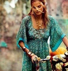gorgeous dress! boho