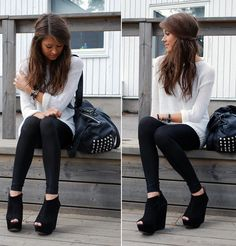 casual outfit looks so chic