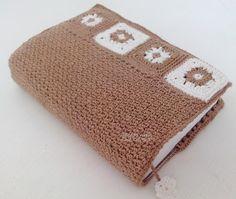 Tecendo Artes em Crochet: Capa para Agendas, Bíblias ou Livros - Com gráfico...