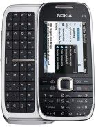 Nokia E75 - A weird, candybar Nokia running Symbian that also had a horizontal-sliding physical QWERTY keyboard underneath. Tried to like it a lot, but, ended up hating it.