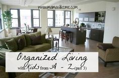 Mamas Like Me: Organized Living with Kids from A-Z - Part 3