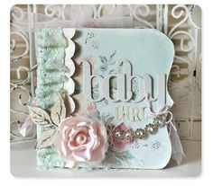 Shabby Styled Baby Mini album