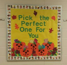 October- Library Bulletin Board