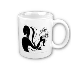 pepe le pew and penelope mug