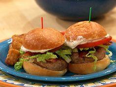 Deluxe Turkey Club Burgers- I add gluten free bread crumbs and 2 eggs