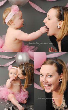 photographi inspir, birthday parti, smash cakes, cake smash picture ideas, bradi photographi, cake smash with mommy, smash photographi, 1st birthday, babi
