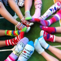 Crazy Socks Day for Fox in Socks