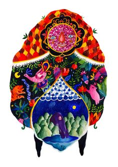 The Garden of Good and Evil by Aitch , via Behance