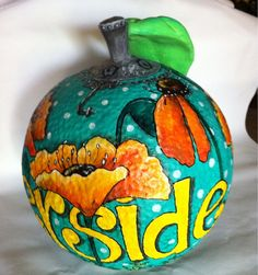 I finished my orange for the Riverside Art Museums fund raiser, Orange Aid. Oranges are available and will be distributed via a lottery on Nov. 9, 2012