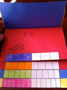 Buzzing with Ms. B: Math - Equivalent Fractions Foldable