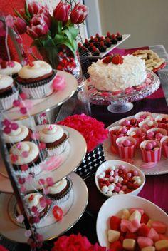 """Valentine's Day Dessert Bar -""""My Volunteer Valentine"""""""
