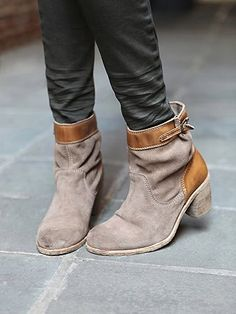 free people paperback ankle boot.