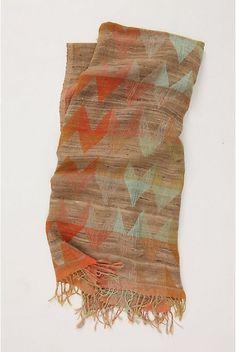 Beautiful pastel scarf.