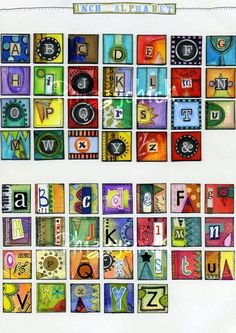 digit art, kid art, phizzychick digit, inchies art journal