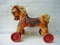 Vintage Wonder Horse Toy