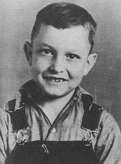 Johnny Cash, age ten in 1942