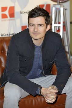 Orlando Bloom promotes Boss Orange fragrance