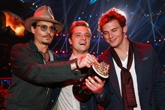 Josh Hutcherson: Inside the MTV Movie Awards with Johnny Deep & Sam Claflin