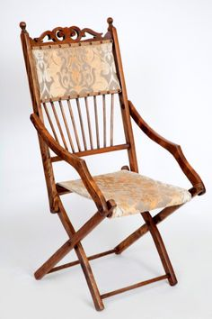 Victorian folding chair