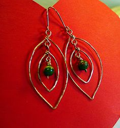 Create you own wire and wire-wrapped earrings!