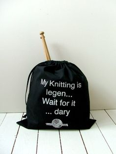 Knitting bag  - Kelly Connor Designs, $ :)