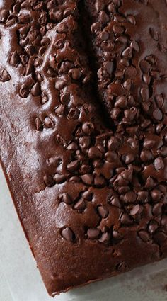 chocolate pound cake with chocolate chips... pound cakes