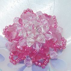 Who says red is the only color associated with Valentine's Day? Try out this Pretty in Pink Flower Motif!