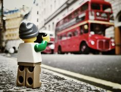 Must-see photography series documenting a LEGO Minifig photographer around the world.