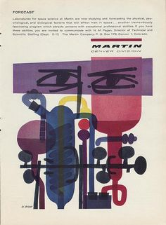Martin ad: Illustrated by Willi K. Baum