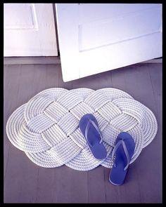 rope doormat instructions