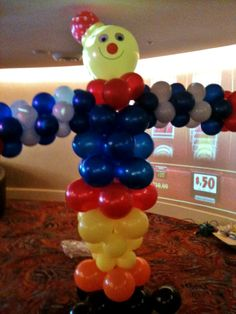 Payaso de globos  Clown balloons globo clown, clown balloon