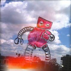 Caption this Robot