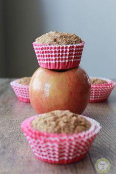 Oat apple muffins.