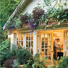 Would love to have a garden room!