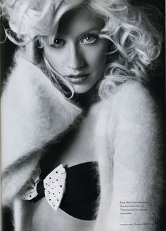 Christina Aguilera- this is a nice picture of her