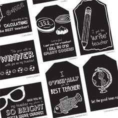 Free Back to School Printable: Teacher Gift Tag