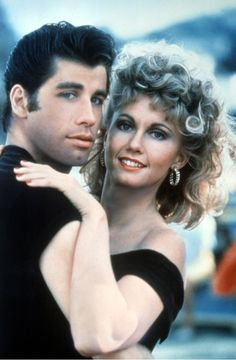"""The musical Grease in the late 70's sparked off a whole craze of big hair and leather leggings.  We all wanted to be Sandy.  Great soundtrack and wonderful fun characters.  The """"innocent"""" relationship between Danny Zuko (John Travolta) and Sandy Olsen (Olivia Newton-John) was great viewing."""