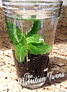 Blackberry Mint Infused Water | Easy way 2 LOVE UR WATER | Low CAL, nutritious and HYDRATING! Plus- it serves as a little snack too! | For MORE RECIPES like this please SIGN UP for our FREE NEWSLETTER www.NutritionTwins.com