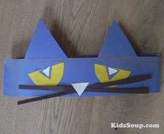 Pete the Cat headband craft