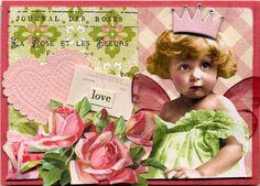 Love Fairy Valentine ATC