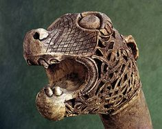 viking animal head