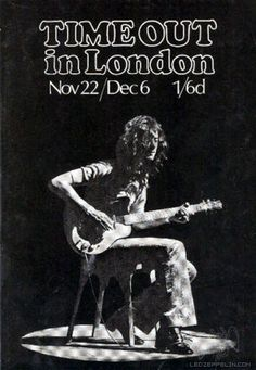 Jimmy Page: Time Out, Nov. 22/Dec. 6, 1969 (UK)