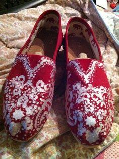 Diy toms shoes