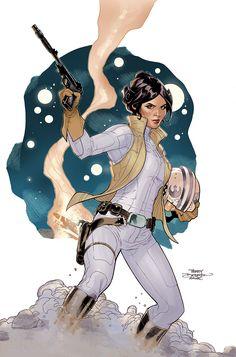 Princess Leia #1 Cover by TerryDodson on deviantART