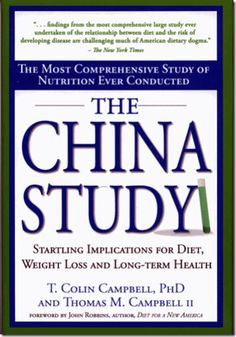 The China Study, very fascinating!