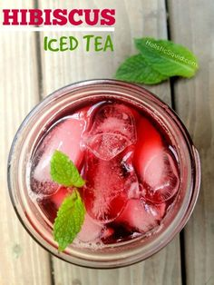 Hibiscus Iced Tea - Holistic Squid  www.onedoterracommunity.com   https://www.facebook.com/#!/OneDoterraCommunity