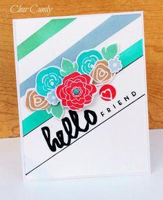 Beautiful stamped card.