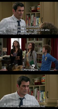 Modern Family is one of the only shows that make me LAUGH out loud.
