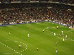 The Real Madrid #EstadioSantiago #Madrid, #Spain #andreacatsicas